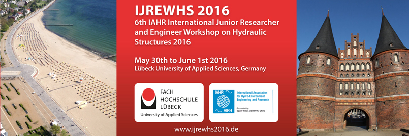 6th International Junior Researcher and Engineer Workshop on Hydraulic Structures (IJREWHS 2016)