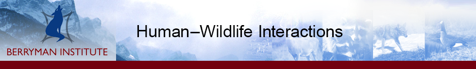 Human–Wildlife Interactions
