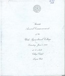 Utah State University Commencement, 1923