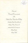 Utah State University Commencement, 1929