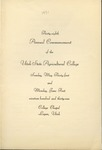 Utah State University Commencement, 1931