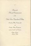 Utah State University Commencement, 1932