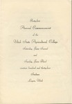 Utah State University Commencement, 1934