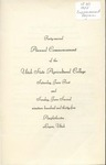Utah State University Commencement, 1935