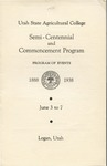Utah State University Commencement, 1938