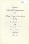 Utah State University Commencement, 1940