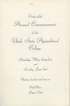 Utah State University Commencement, 1941