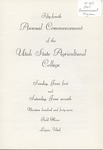 Utah State University Commencement, 1947