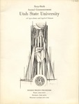 Utah State University Commencement, 1959