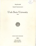Utah State University Commencement, 1960