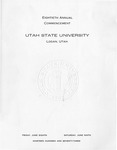 Utah State University Commencement, 1973