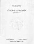 Utah State University Commencement, 1973
