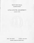 Utah State University Commencement, 1974
