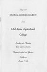 Utah State University Commencement, 1952