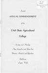 Utah State University Commencement, 1953