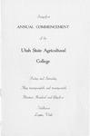 Utah State University Commencement, 1954
