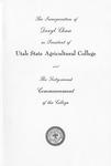 Utah State University Commencement, 1955