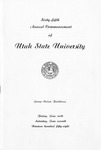 Utah State University Commencement, 1958