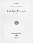 Utah State University Commencement, 1961