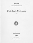 Utah State University Commencement, 1962
