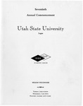 Utah State University Commencement, 1963
