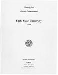 Utah State University Commencement, 1964