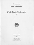 Utah State University Commencement, 1965