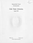 Utah State University Commencement, 1967