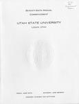 Utah State University Commencement, 1969