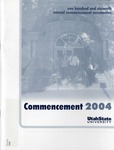 Utah State University Commencement, 2004 – Main Campus by Utah State University