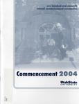 Utah State University Commencement, 2004