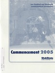 Utah State University Commencement, 2005