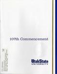 Utah State University Commencement, 2000