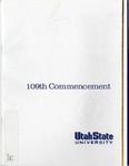 Utah State University Commencement, 2002