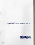 Utah State University Commencement, 2002