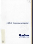 Utah State University Commencement, 1996