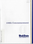 Utah State University Commencement 1999