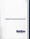 Utah State University Commencement, 1995
