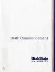 Utah State University Commencement, 1997