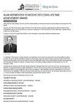 Alan Hofmeister to Receive 2012 CEHS Lifetime Achievement Award by Center for Persons With Disabilities