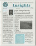 Insights, Spring, 1997 by Utah State University