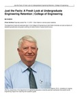 Just the Facts: A Fresh Look at Undergraduate Engineering Retention | College of Engineering