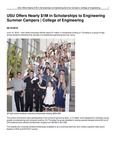 USU Offers Nearly $1M in Scholarships to Engineering Summer Campers | College of Engineering