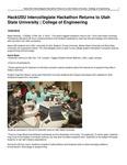HackUSU Intercollegiate Hackathon Returns to Utah State University | College of Engineering