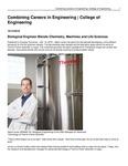 Combining Careers in Engineering | College of Engineering