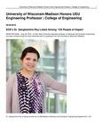 University of Wisconsin-Madison Honors USU Engineering Professor | College of Engineering