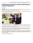 USU Classroom Outfitted for Student Stress Research | College of Engineering