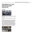 USU AWWA Tour   Civil and Environmental Engineering by USU College of Engineering