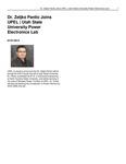 Dr. Zeljko Pantic Joins UPEL | Utah State University Power Electronics Lab