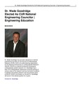 Dr. Wade Goodridge Elected as CUR National Engineering Councilor | Engineering Education
